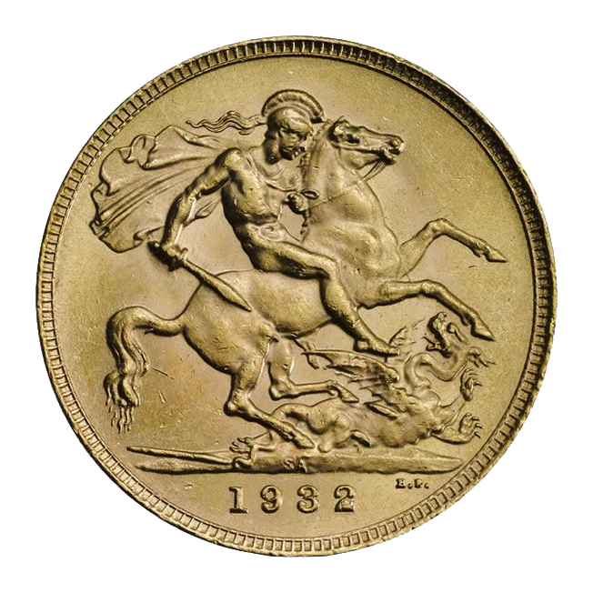 1932 King George V Sovereign