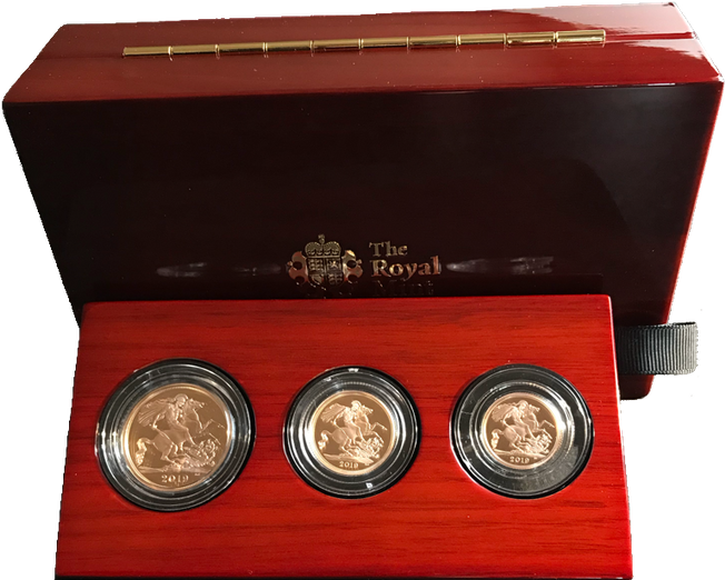 2019 Premium Three-Coin Gold Proof Set