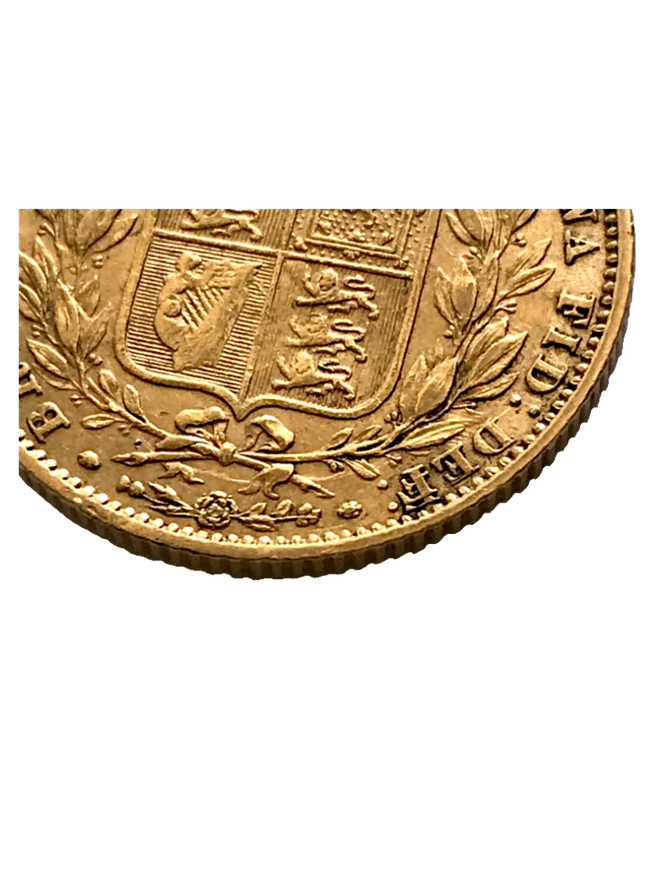 1859 Ansell Sovereign Error E/F in DEF