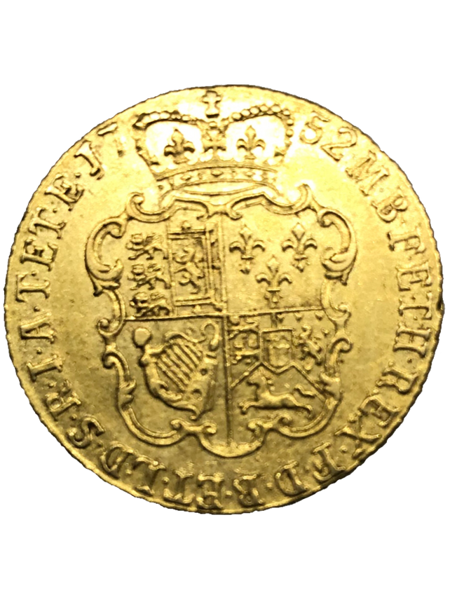 1752 George II Shield Guinea