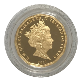 2017 Twelve-Sided Gold Sovereign