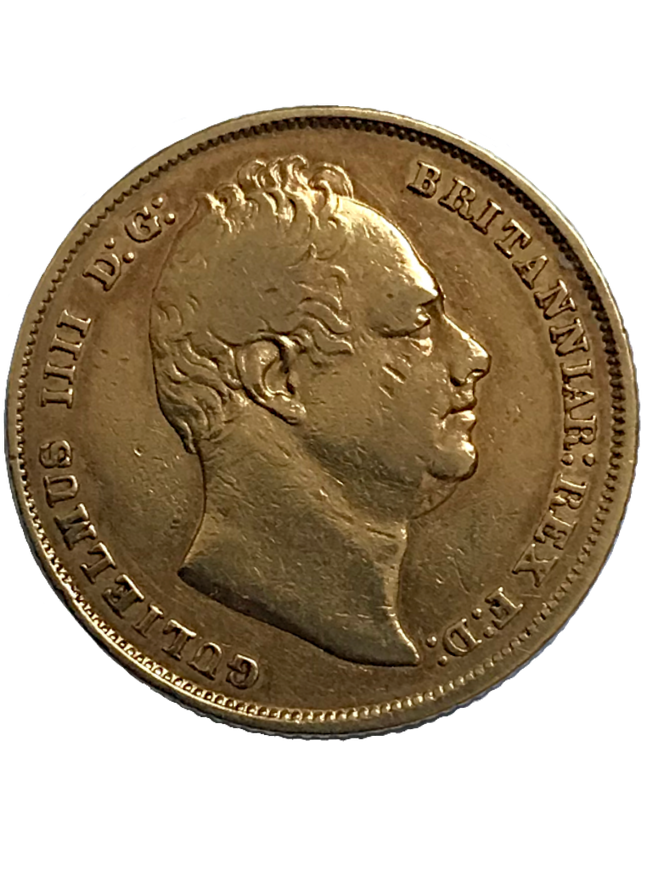 1832 William IV Full Sovereign
