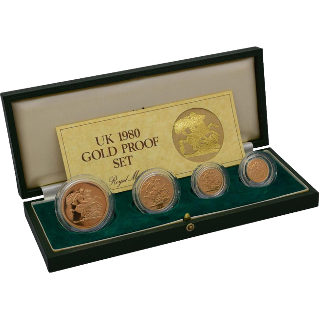 1980 PROOF Sovereign Set