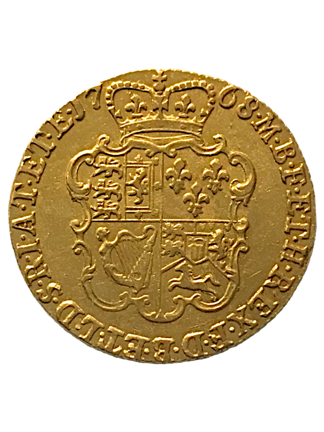 1768 King George III Guinea