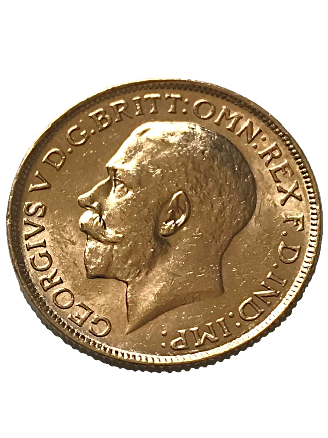 1916 George V Full Gold Sovereign Sydney