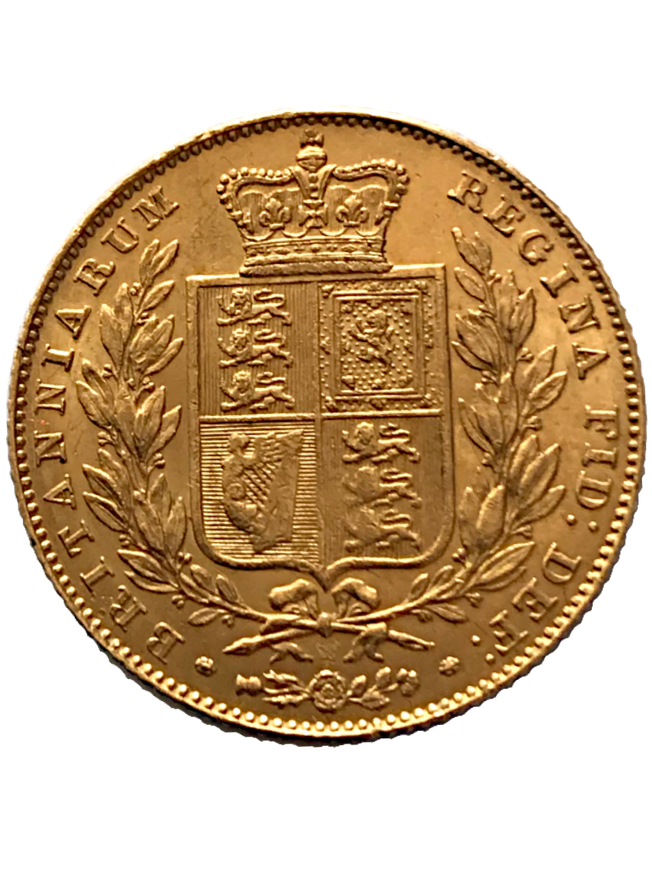 1846 Queen Victoria Full Sovereign