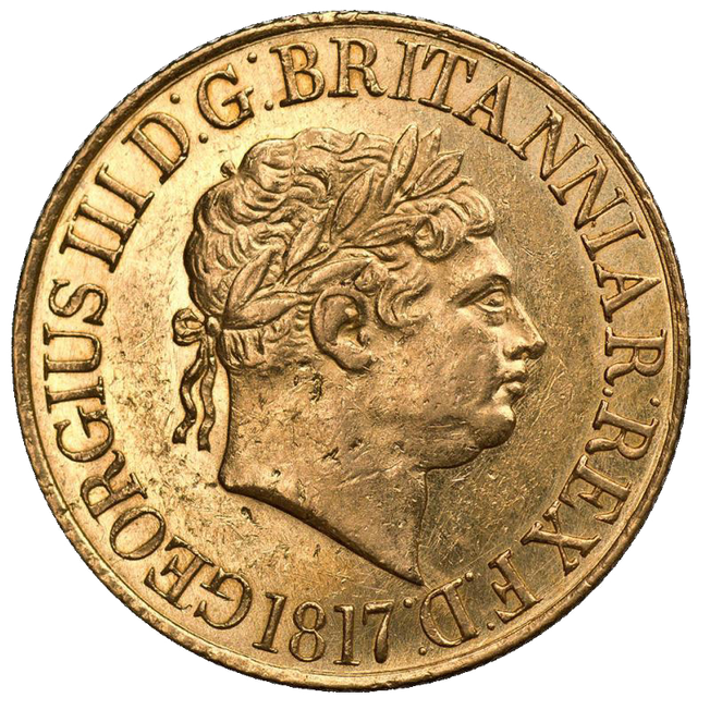1817 George III Sovereign