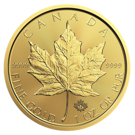 2017 1 oz Canadian Maple Leaf Gold Coin (privy)