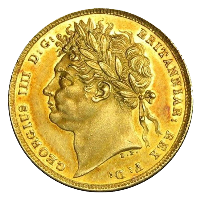 1821 George IV Sovereign
