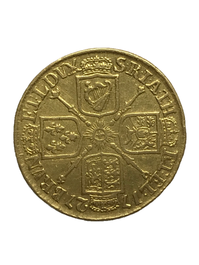 George I 1727 Gold Full Guinea